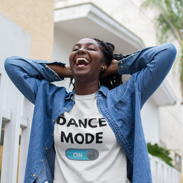 Dance mode on T-shirt, dance T-shirt, short-Sleeve Unisex dancer T-Shirt - SD-style-shop