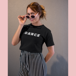 Black Dance Unisex T-Shirt - SD-style-shop