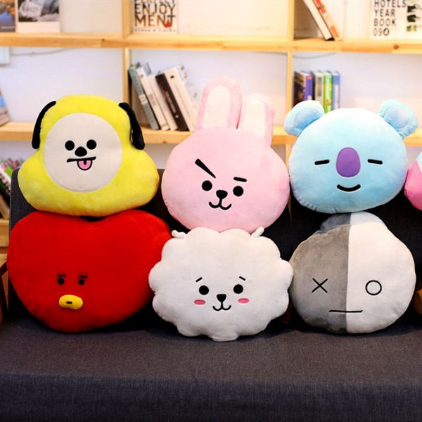 BT21 plush pillow 30 Cm - SD-style-shop