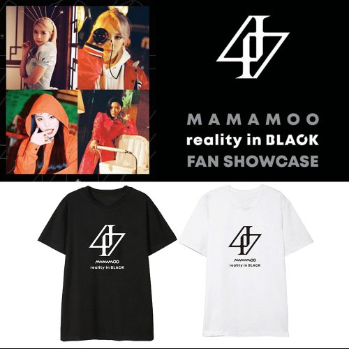 MAMAMOO  REALITY IN BLACK Tshirt - SD-style-shop