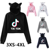 TikTok Cat Crop Top - SD-style-shop