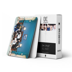 54PCS/SET BTS BE Lomo cards - SD-style-shop