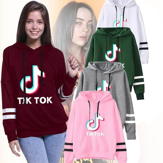 Tik Tok Hoodie - Hooded TikTok Sweatshirt - SD-style-shop