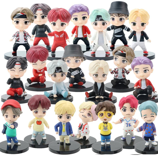7PCS/set TinyTan Model Toys - BTS Action Figures