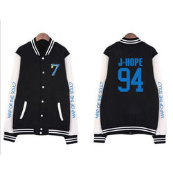 BTS Map of the soul 7 baseball jacket - SD-style-shop