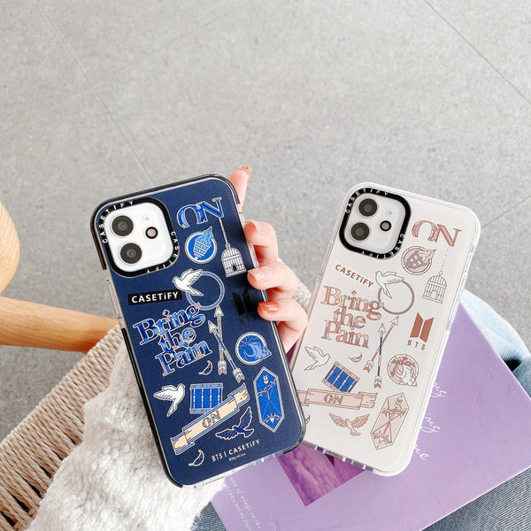 BTS On iPhone case