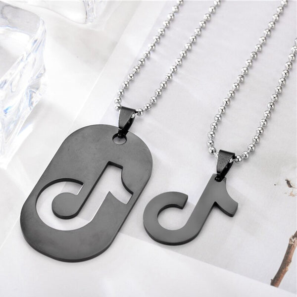 TikTok pendant necklace - SD-style-shop