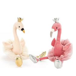 1PC Dance swan flamingo plush toys - SD-style-shop