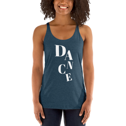 DANCE Racerback Tank - SD-style-shop