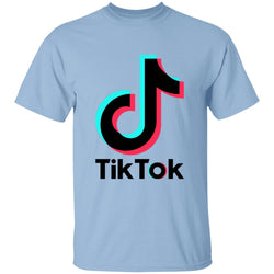 TikTok Logo 100% Cotton T-Shirt Kids - SD-style-shop