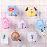 Sleeping BT21 bal toy pendant - SD-style-shop