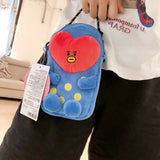BT21 Tata Plush Phone bag - SD-style-shop