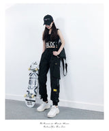 Black Cargo pants - SD-style-shop