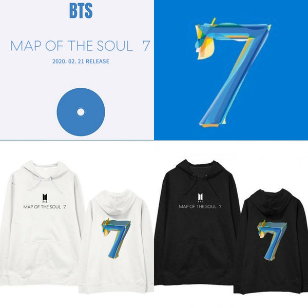 Map of the Soul 7 BTS Hoodie