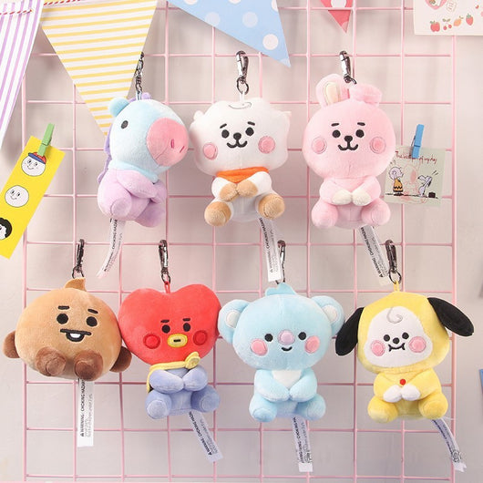 BT21 Baby plush pendant - SD-style-shop