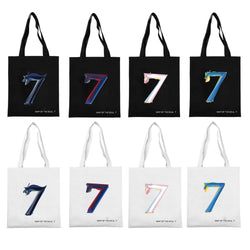 BTS MAP OF THE SOUL : 7  Canvas Shopping Bag - SD-style-shop