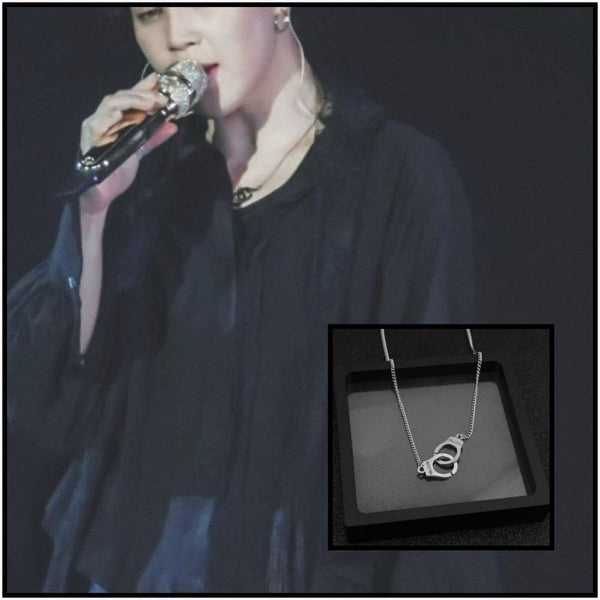 BTS Jimin Handcuffs Necklace