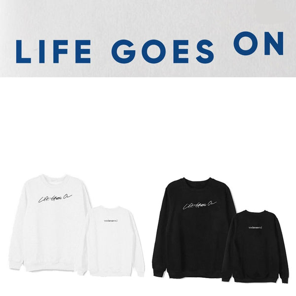 BTS BE Sweatshirt Life Goes On