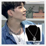 BTS Peace necklace Suga - SD-style-shop