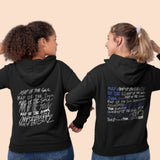 BTS Map of the soul 7 text hoodie sweatshirt - SD-style-shop