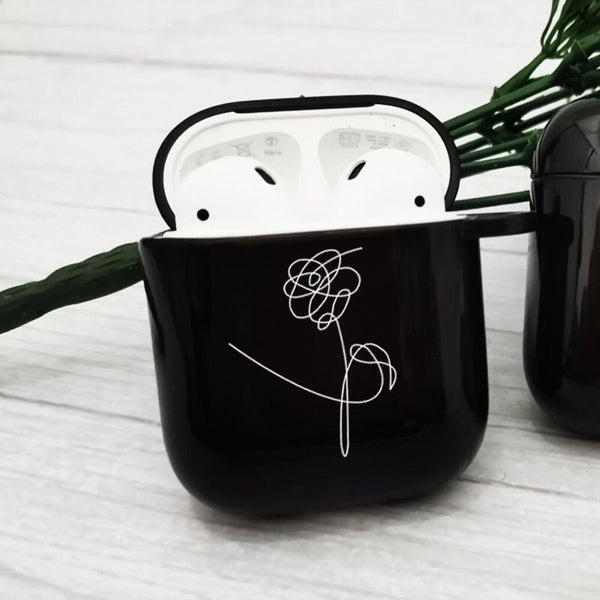BTS Love Yourself Flower Earphone Case for Airpods1 2
