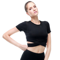 Yoga Cross-over Croptop - SD-style-shop