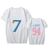 BTS Map of the soul 7 Tshirt with name - SD-style-shop