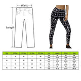 Funny Christmas leggings, Snowflake - SD-style-shop