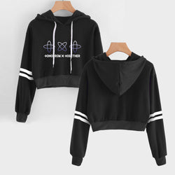 TXT Cropped Hoodie Sweatshirt TOMORROW X TOGETHER - SD-style-shop