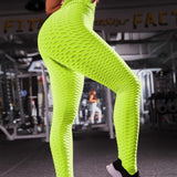 High Waist Fitness legging - Color - Red - SD-style-shop