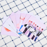 BTS phone case with cards and glitter - SD-style-shop