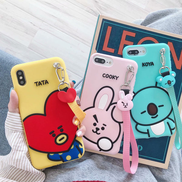 BT21 phone case Koya Tata Cooky - SD-style-shop
