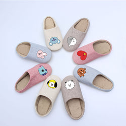 BT21 slippers - SD-style-shop