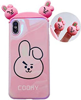 Silicone iPhone Case BT21 - SD-style-shop