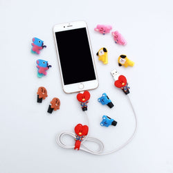 BT21 phone cable protector clip - SD-style-shop