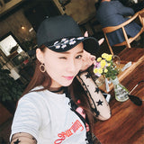 Baseball cap with Flower Embroidery - SD-style-shop