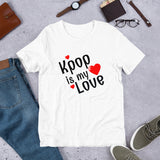Kpop T-shirt, Kpop is my love, Kpop shirt, Short-Sleeve Unisex T-Shirt - SD-style-shop