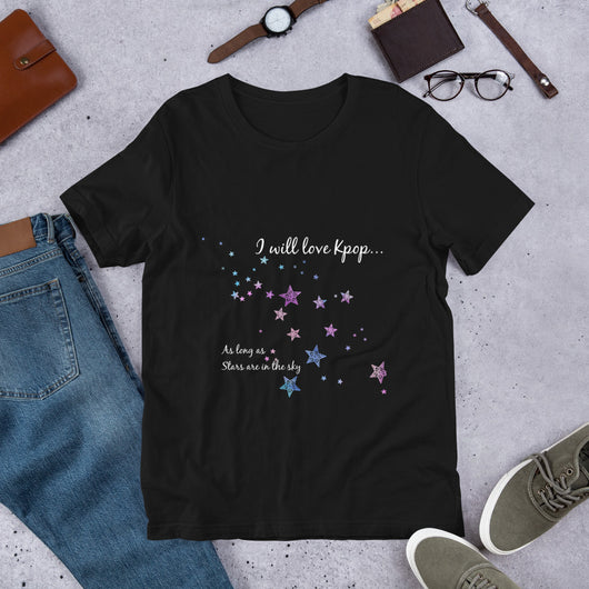 Kpop T-shirt with stars, Kpop stars T-shirt, Short-Sleeve Unisex Kpop T-Shirt - SD-style-shop