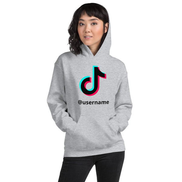 TikTok persanolized Hoodie - SD-style-shop