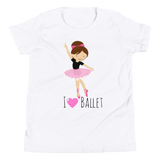 I love ballet T-Shirt for girls - SD-style-shop