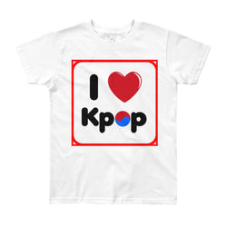 I love Kpop kids Short Sleeve T-Shirt - SD-style-shop