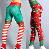 Merry Fitmas - Christmas elf leggings - SD-style-shop