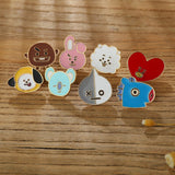 BT21 Bangtan Boys Enamel Pin - SD-style-shop