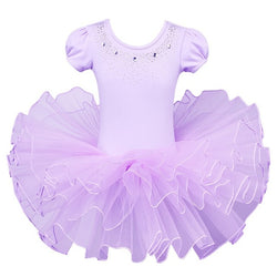 Purple Ballet leotard with tutu - SD-style-shop