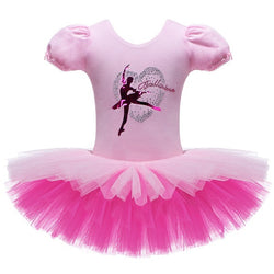 Pink Ballerina leotard with double tutu - SD-style-shop