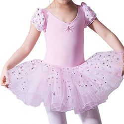 Ballet leotard with tutu and glitter - SD-style-shop