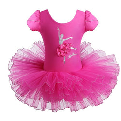 Pink Ballerina leotard with tutu - SD-style-shop