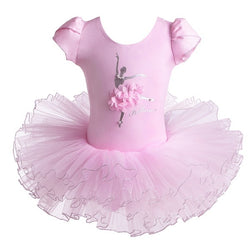Light Pink Ballerina leotard with tutu - SD-style-shop