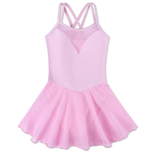 Sleeveless Ballet leotard with skirt - SD-style-shop