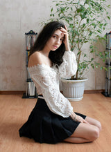 Kawaii high waist pleated skirt - SD-style-shop